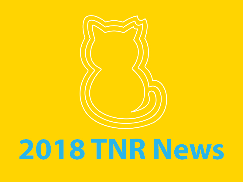 Community Cats & TNR in the News - 2018