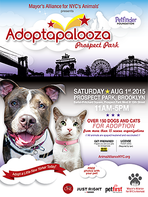 Adoptapalooza - Sunday, August 1, 2015