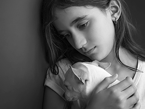 Victims of domestic violence who have pets often face the agonizing decision to flee and leave their pets behind, because very few domestic violence shelters accept pets. These resources might be helpful.