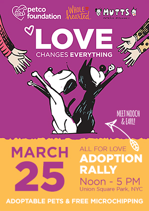 All for Love Adoption Rally - Sunday, March 25, 2018