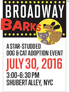 Broadway Barks - July 30, 2016