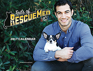 Pillows for Paws: Tails of RescueMen USA 2017 Calendar