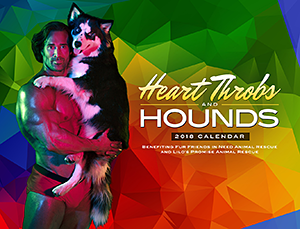 Fur Friends in Need / Lilo's Promise: HeartThrobs and Hounds 2018 Calendar