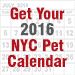 Get Your 2016 NYC Pet Calendar!