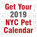 Get Your 2019 NYC Pet Calendar!