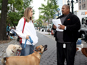 The Mayor's Alliance for NYC's Animals organizes spay/neuter, microchipping, vaccination, and pet emergency preparedness events throughout the year. (Photo by Stephanie Norris, ASPCA)