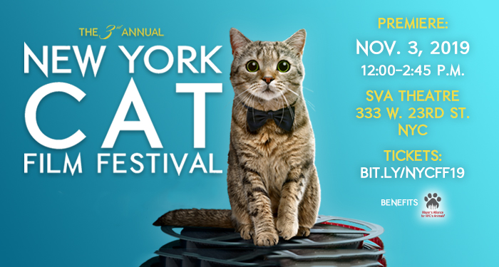 3rd Annual NY Cat Film Festival